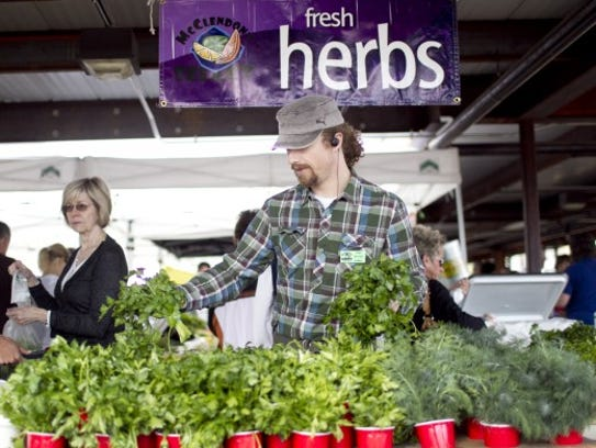 Fresh herbs provide many of the potent flavors found
