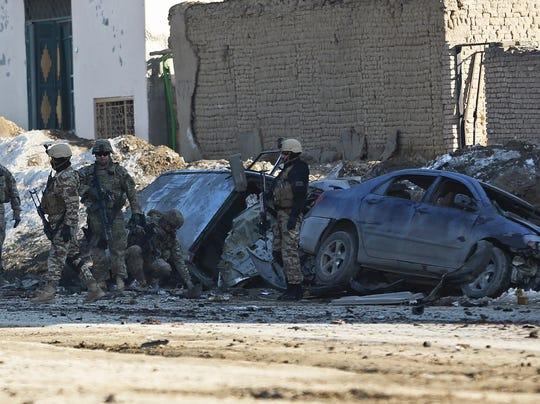 Afghanistan suicide bomb kills 2