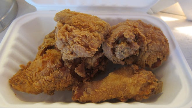 Fried chicken was part of a menu announcement that caused outrage.