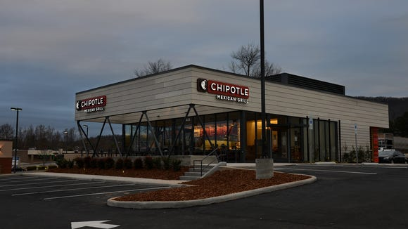 Chipotle on Hendersonville Road.