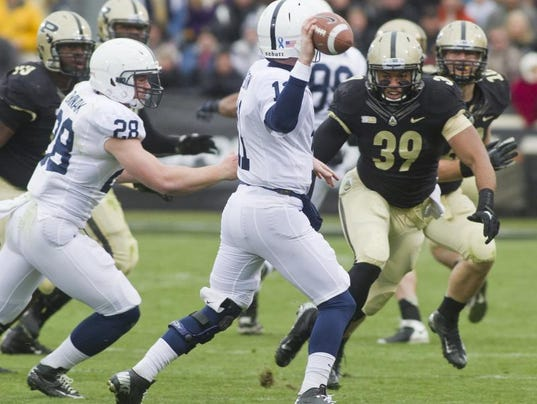 Purdue football: Southport's Gilliam ready to return to field
