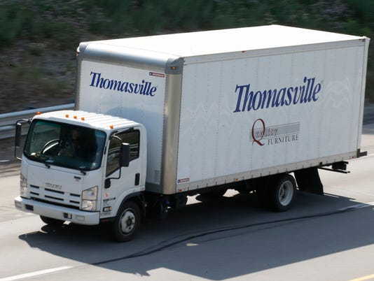 Thomasville Furniture truck