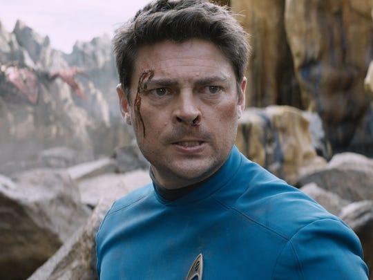Karl Urban plays Bones in 'Star Trek Beyond.'