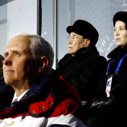 White House: North Korea walked away from meeting with Pence at Winter Olympics