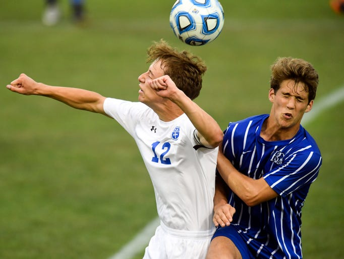 Christian Academy of Knoxville's Davis Clothier heads