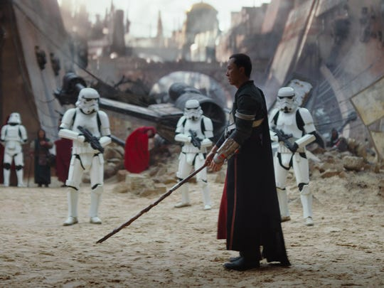 """Donnie Yen in """"Rogue One: A Star Wars Story."""""""