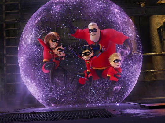 """A scene from """"Incredibles 2."""""""