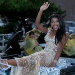 Jasmine Murray in the Miss America parade
