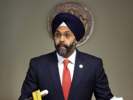 New Jersey Attorney General Gurbir S. Grewal.
