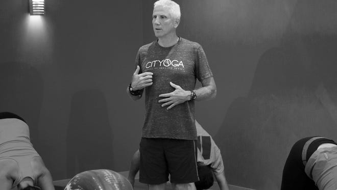 Dave Sims is an instructor/studio owner at CITYOGA School of Yoga and Health in Indianapolis.