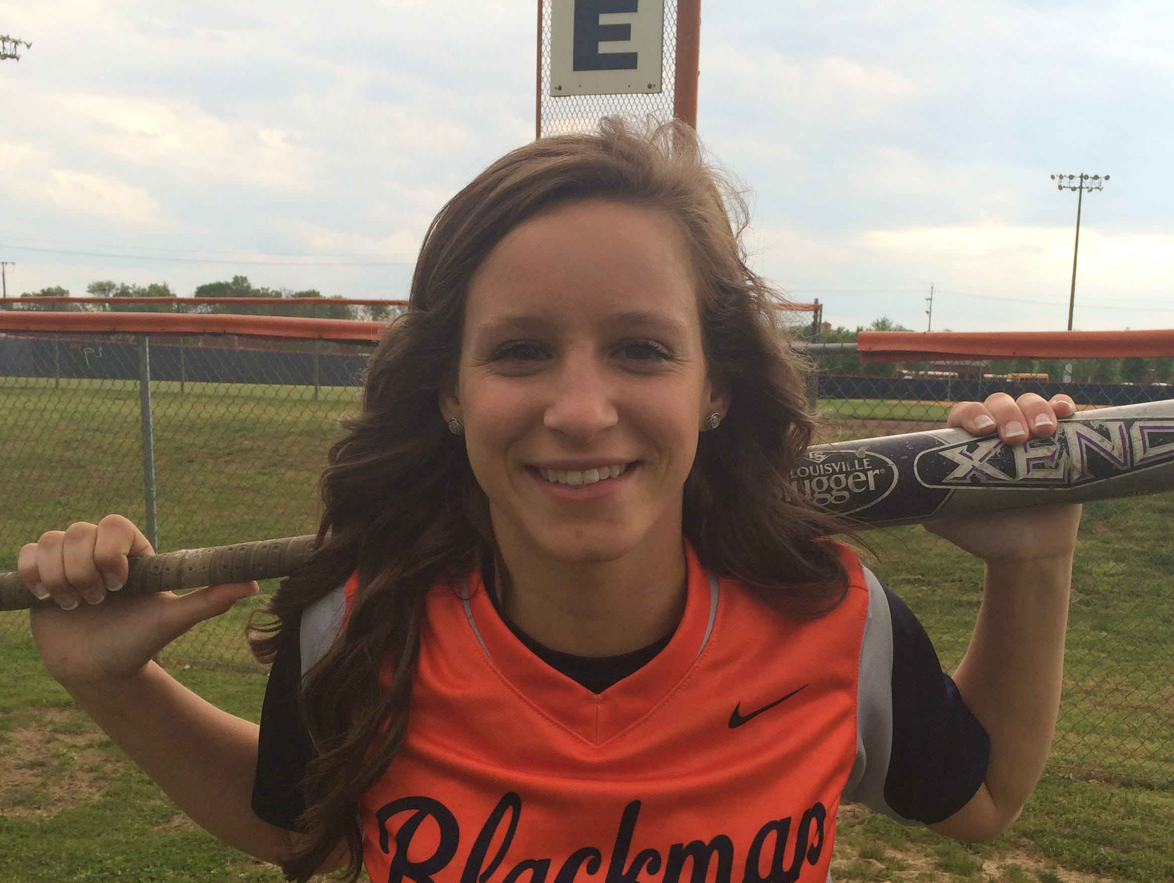 Kirstyn Cuccia leads Blackman at the plate this year, and can play any position except pitch.