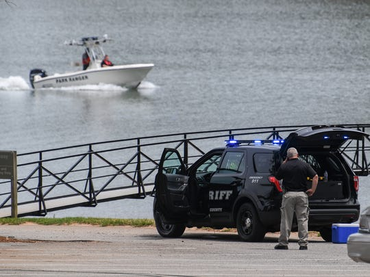 An Anderson County Sheriff Office employee drowned in Lake Hartwell after a boating accident near Singing Pines Recreation Area in Anderson County on Thursday.