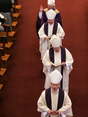 Four of Iowa's Catholic bishops gathered jointly at