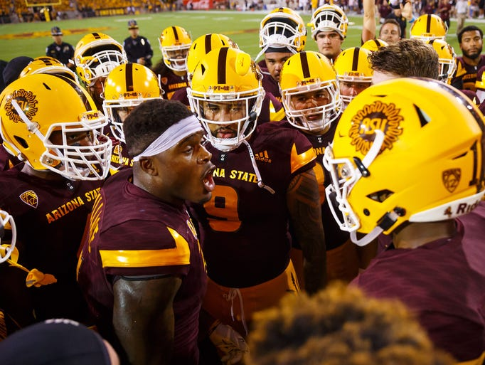 Arizona State Sun Devils running back Kalen Ballage