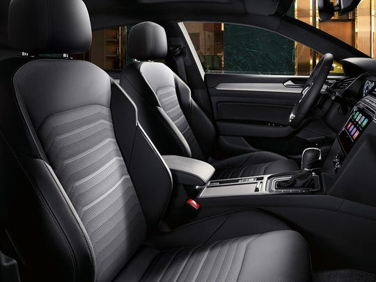 Trimmed in Nappa leather, the seats have well bolstered setbacks, offer 12-way power adjustments and four-way power lumbar.