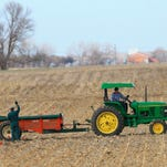 Two Iowa entrepreneurs are finalists in a business competition that encourages new technologies to help rural America