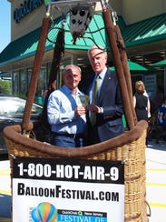 Tickets for the 36th annual QuickChek New Jersey Festival of Ballooning go on sale May 25.