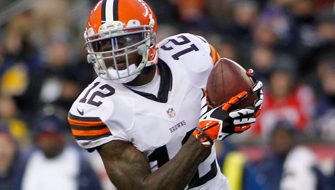 Browns all-pro WR Josh Gordon led the NFL with 1,646 receiving yards in 2013.