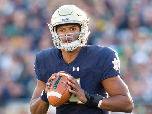 USP NCAA FOOTBALL: WAKE FOREST AT NOTRE DAME S FBC USA IN