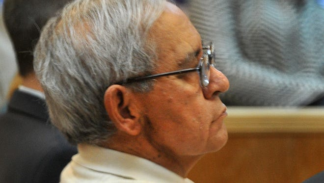 Accused sex abuser Antonio Perez listens Wednesday as both sides in his trial present closing arguments.  The jury received the case late in the afternoon and began deliberations.
