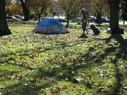 Homeless Encampment In Washington DC Park Refuses Order To Move