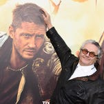 """Director George Miller arrives at the Los Angeles premiere of """"Mad Max: Fury Road"""" in Los Angeles in May. The National Board of Review has named his picture the best film of 2015."""