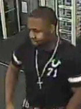 Police are searching for a man suspected of using cloned credit cards in Rockledge.