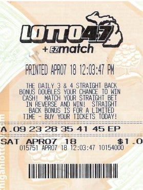 A Wayne County man, 70, won $1.3M jackpot from Michigan Lottery.