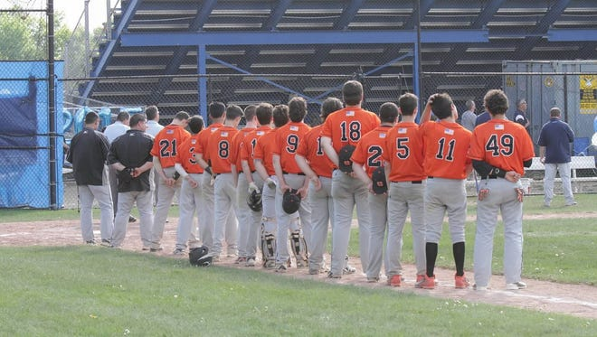 The Croton-Harmon High School baseball team.