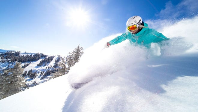 Ikon Pass ski resort Squaw Valley received six feet of snow last week.