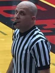 Shreveport-area basketball official Marc Gibson.