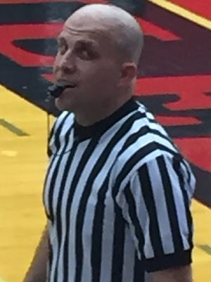 Shreveport-area basketball official Marc Gibson.