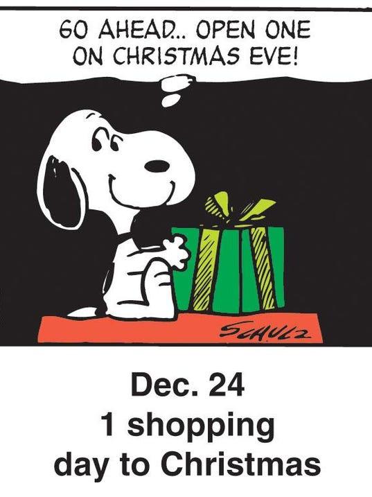 Holiday Peanuts Dec. 24