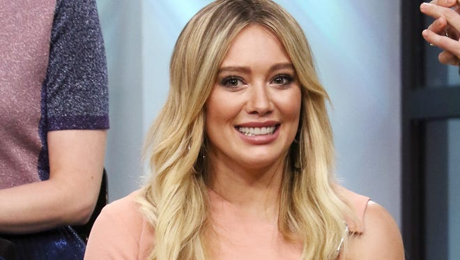 Hilary Duff is safe after a burglary at her LA home.