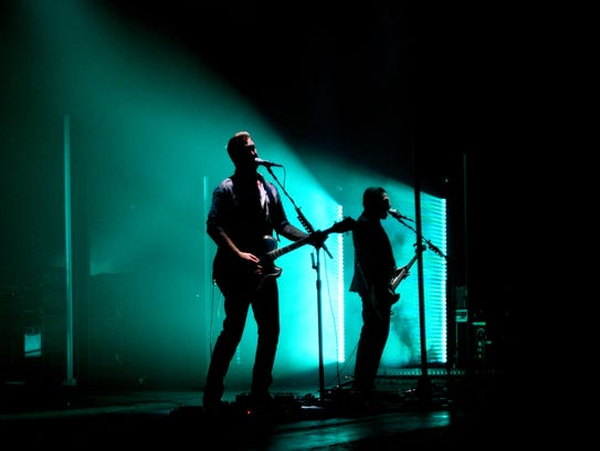 Queens of the Stone Age perform at the Municipal Auditorium