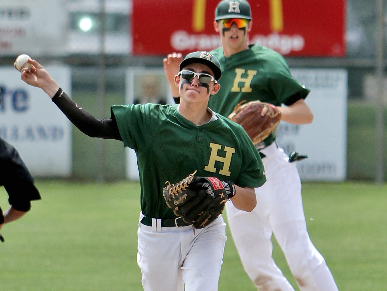 Riley Bennett had three hits and five RBIs for Howell as the Highlanders won their home opener on Sunday, 10-5.
