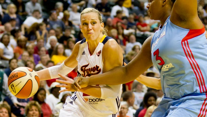FILE -- Local women's basketball great Katie Douglas announced she is retiring.