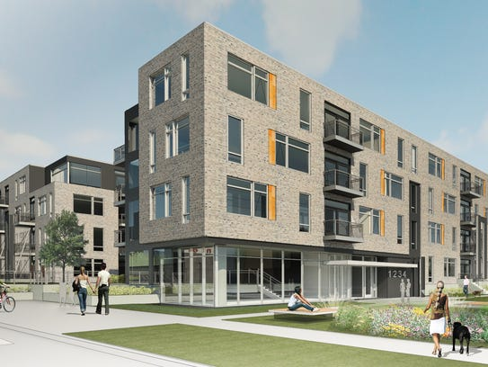 The developer of Element 84, an upscale apartment community