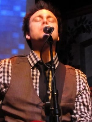 Justin Ploof of Justin Ploof and the Throwbacks performs in concert. The band is closing out its Rockumentary series with a Beach Boys show.
