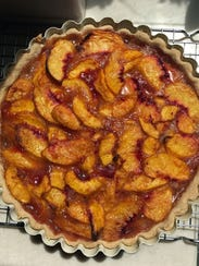 Summertime Peach Tart offers intense flavor for dessert