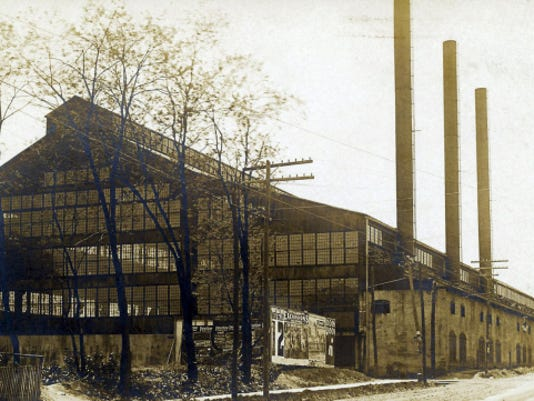 Pictured is Chambersburg Engineering Company, South Main and Derbyshire streets, in the early 1900s.