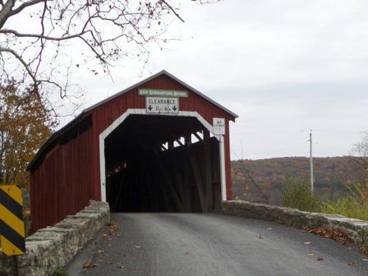 New Germantown bridge was constructed in 1891.