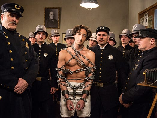 The small screen is getting bigger all the time. Adrien Brody, starring in History's 'Houdini' (Monday and Tuesday, 9 ET/PT), won an Oscar for his role as a musician and concentration-camp survivor in 2002's 'The Pianist.' But he's only the latest winner to cross over to television.
