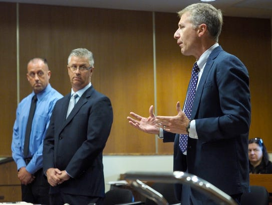 Middlesex County Assistant Prosecutor Russell Curley