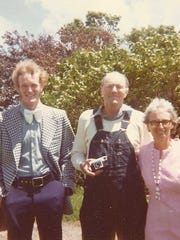 From left to right: Jim Goodrich, Paul Goodrich and