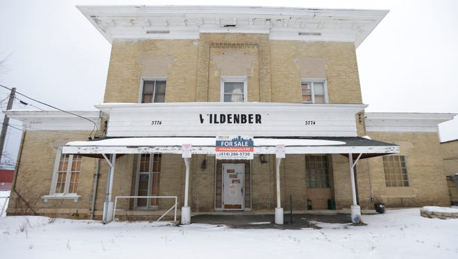 The historic former Wildenberg's Evergreen Hotel, a Cream City brick building constructed in 1854, could be the center of a future mixed-use development on S. 27th St.