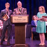 Bossier Parish Community College's Theatre Program received seven awards for distinguished achievement from the Kennedy Center American College recently.