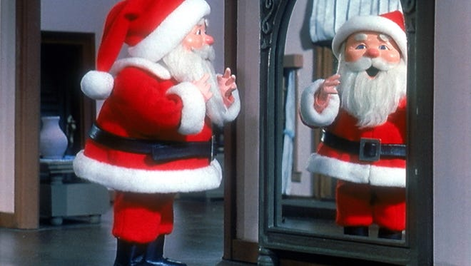 "Old Saint Nick might just give his reindeer the night off and choose to fly with fuel. (Still from the TV show ""The Year Without a Santa Claus."")"