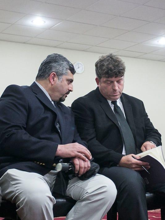 Matthew Jansen visits Hadee Mosque