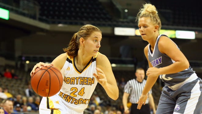 Molly Glick had 13 points, two blocks and a steal in the 94-55 win over Asbury College Nov. 4.
